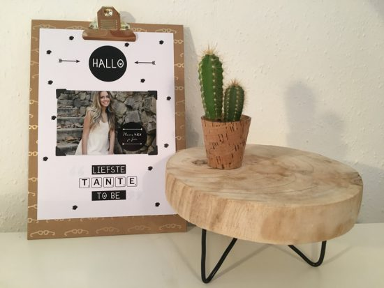 Poster: Hallo liefste tante to be
