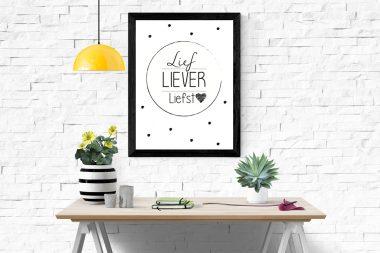 Poster: Lief, liever, liefst