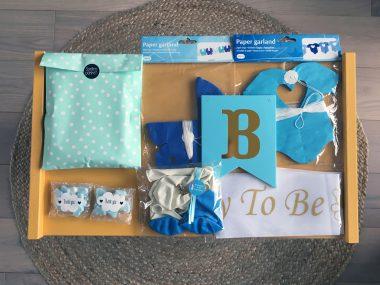Totaalpakket Babyshower Blauw