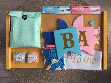 Totaalpakket Babyshower Roze Blauw