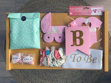 Totaalpakket Babyshower Roze