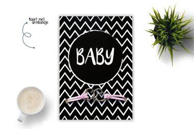 Sieradenkaart BABY