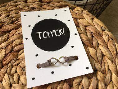 Sieradenkaart Topper